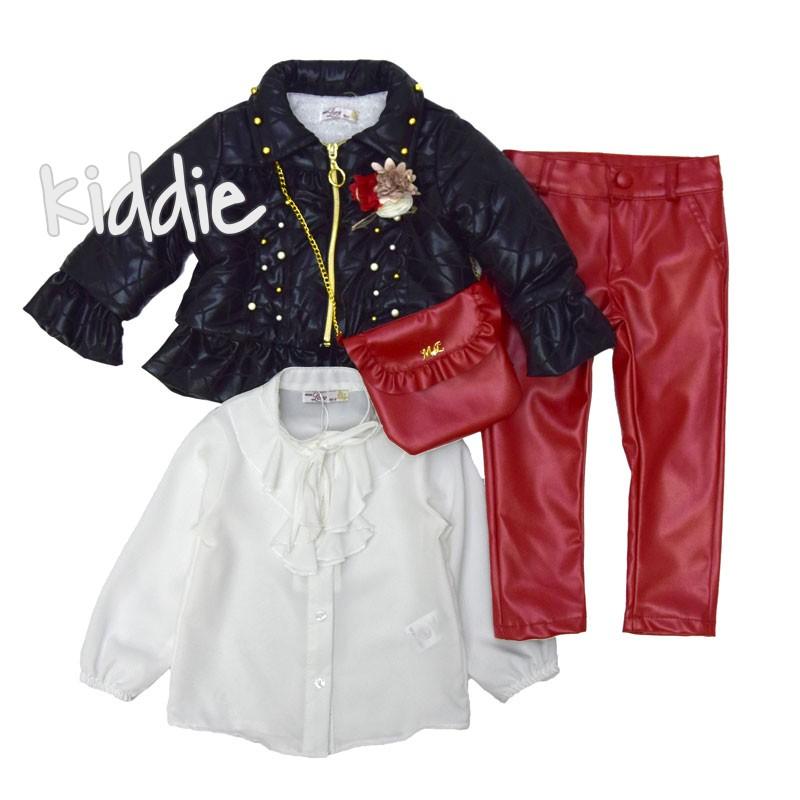 Детски комплект Miss Love 4ч за момиче с яке