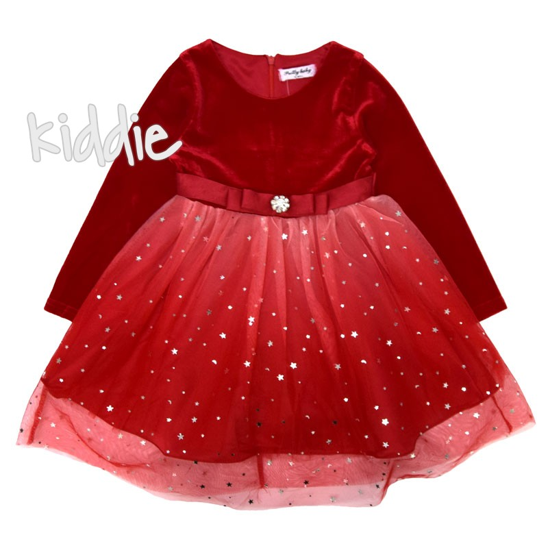 Детска рокля Pretty baby с тюл
