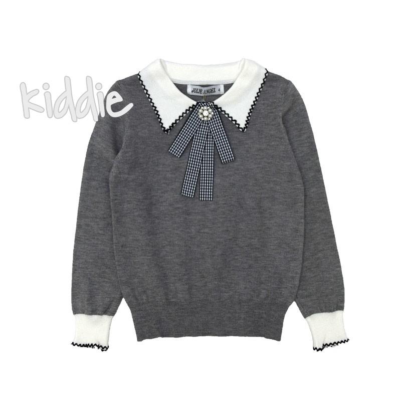 Детска блуза Yolle Angel фино плетиво за момиче