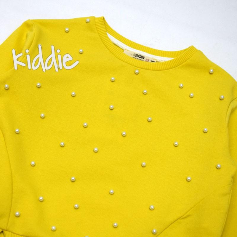 Детска блуза Cikoby за момиче с перли