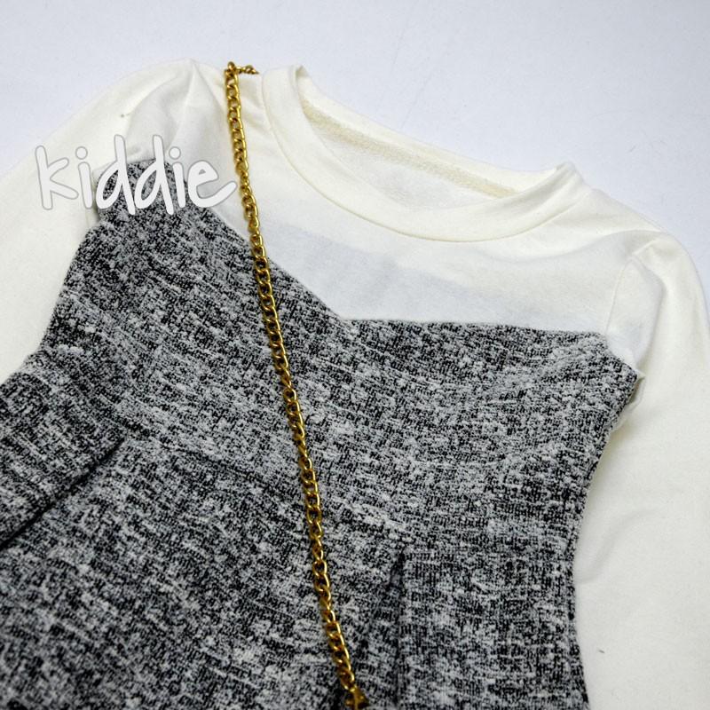 Детска рокля D Henim с чанта и плохи