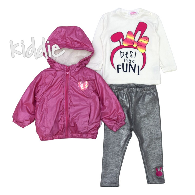 Детски комплект Repanda с яке за момиче
