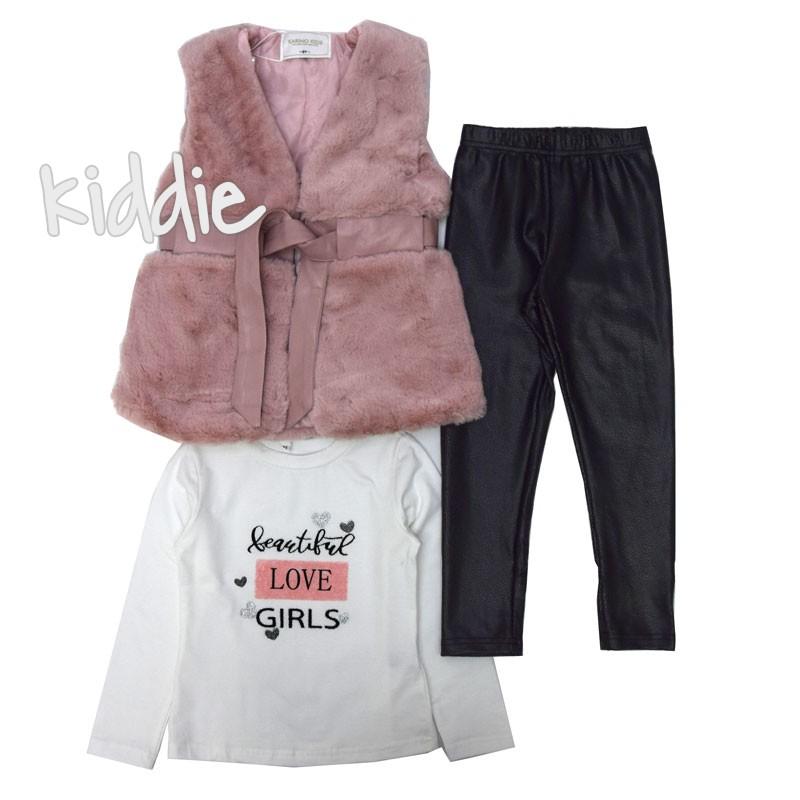 Детски комплект Beautiful Girl Karino Kids за момиче