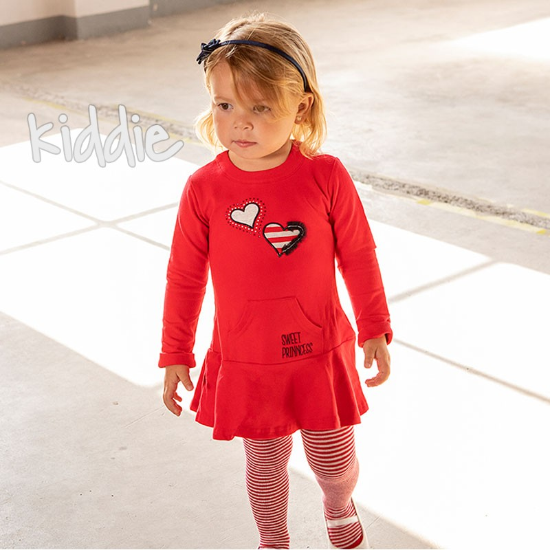Бебешка рокля Babybol Sweet Prinncess с чорапогащник