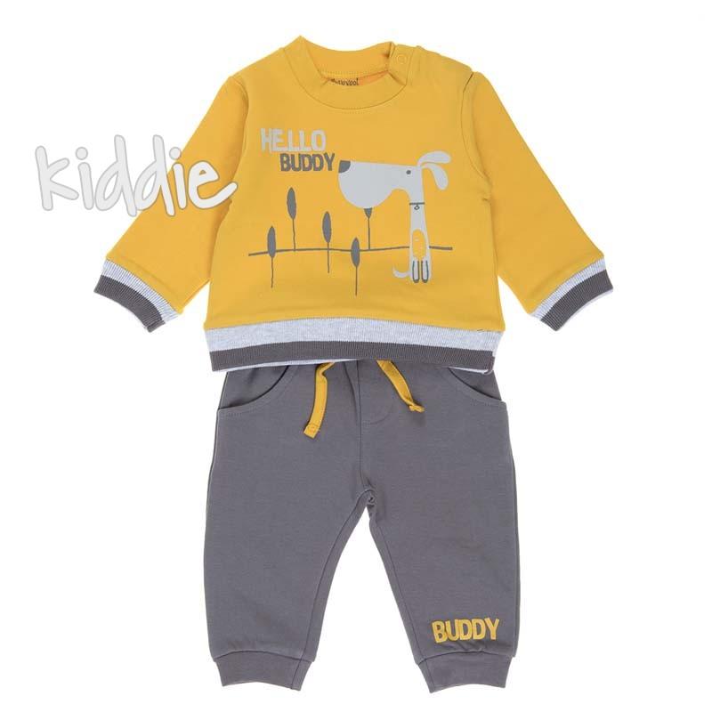 Бебешки комплект Babybol Hello Buddy за момче