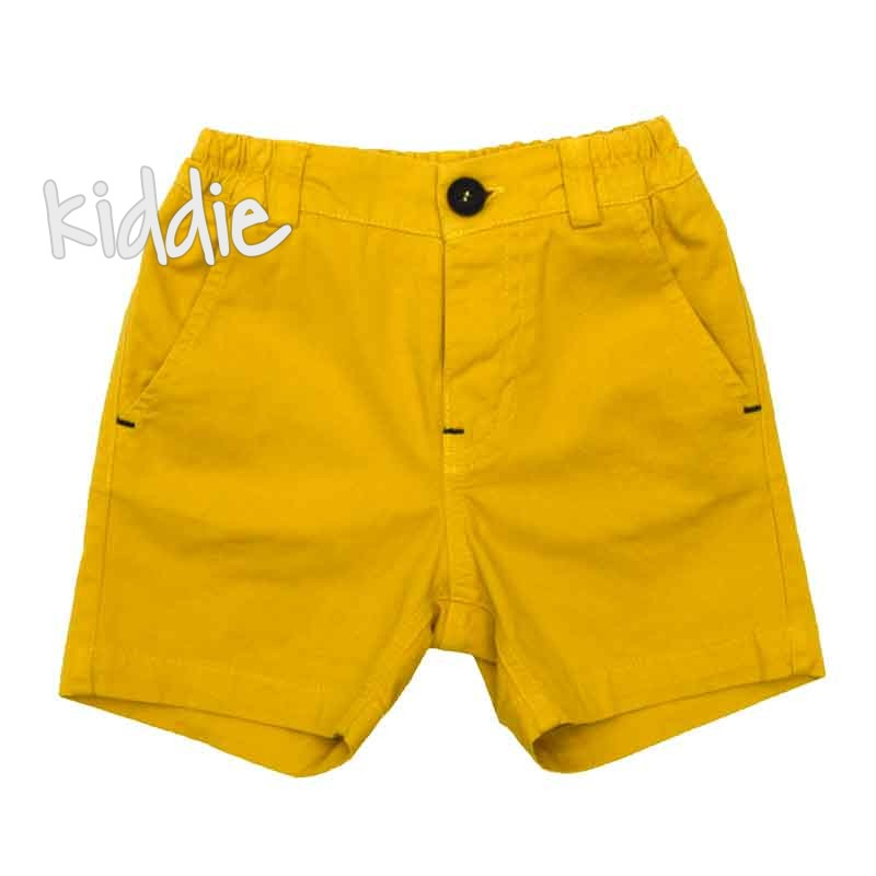 Бебешки къси панталони Contrast за момче