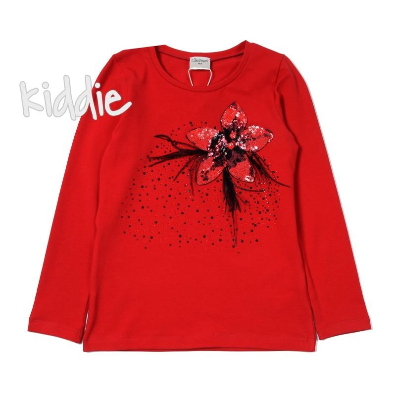 Детска блуза с пера Contrast