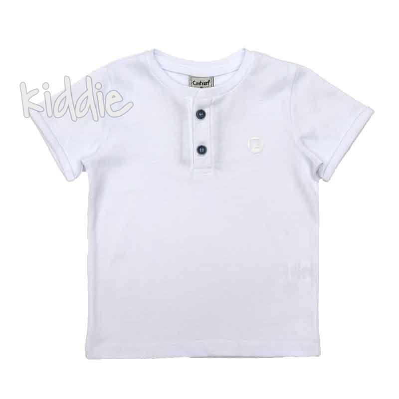 Детска тениска Contrast за момче