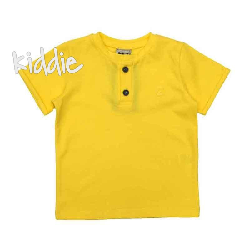 Бебешка тениска Contrast за момче