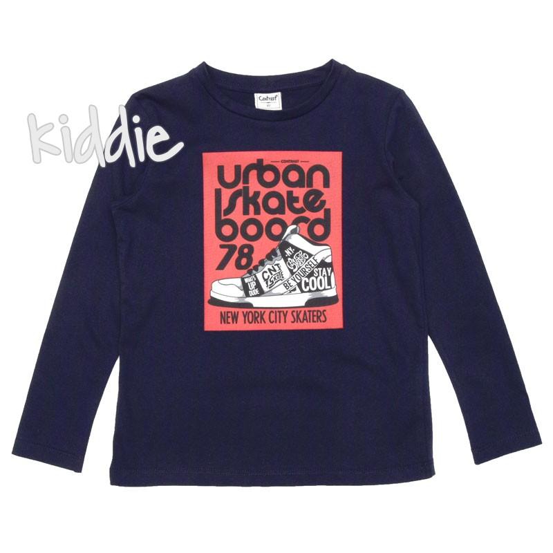 Детска блуза Contrast за момче