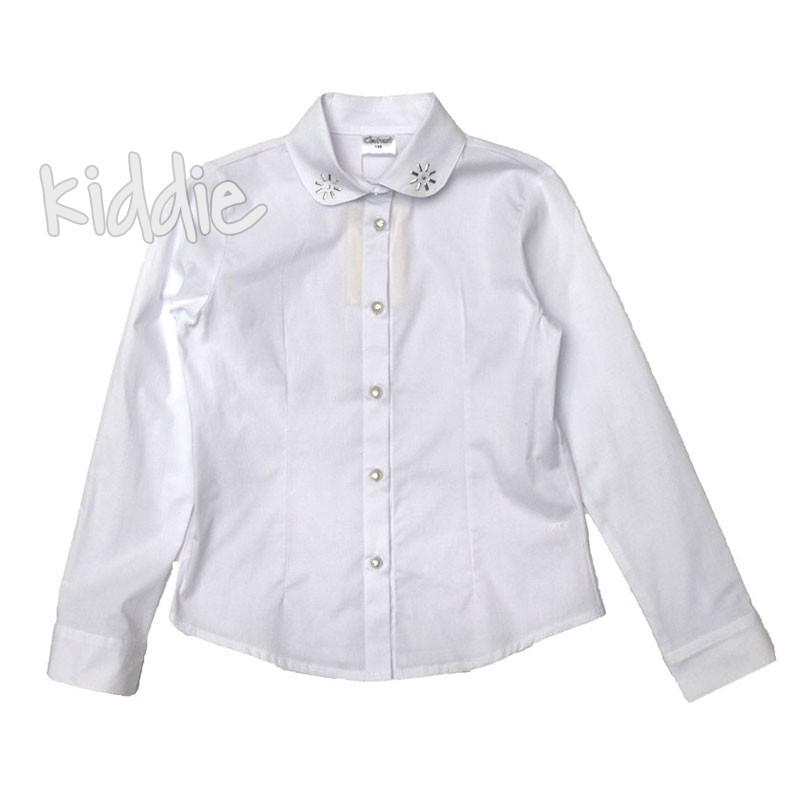 Детска риза Contrast за момиче