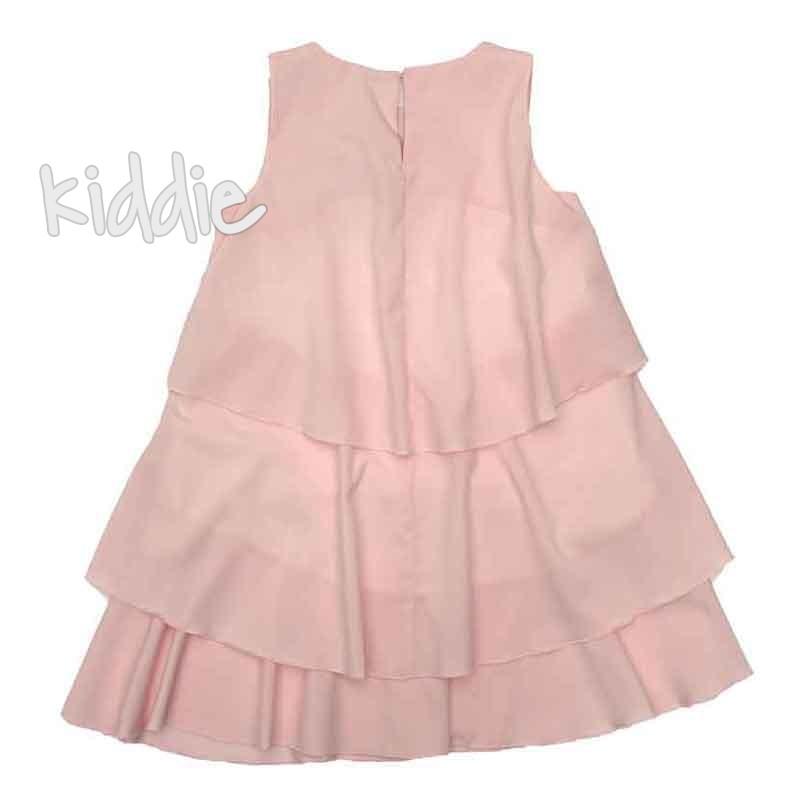 Ефирна детска рокля Contrast