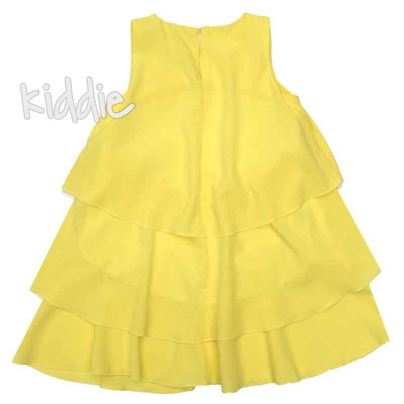 Ефектна детска рокля Contrast
