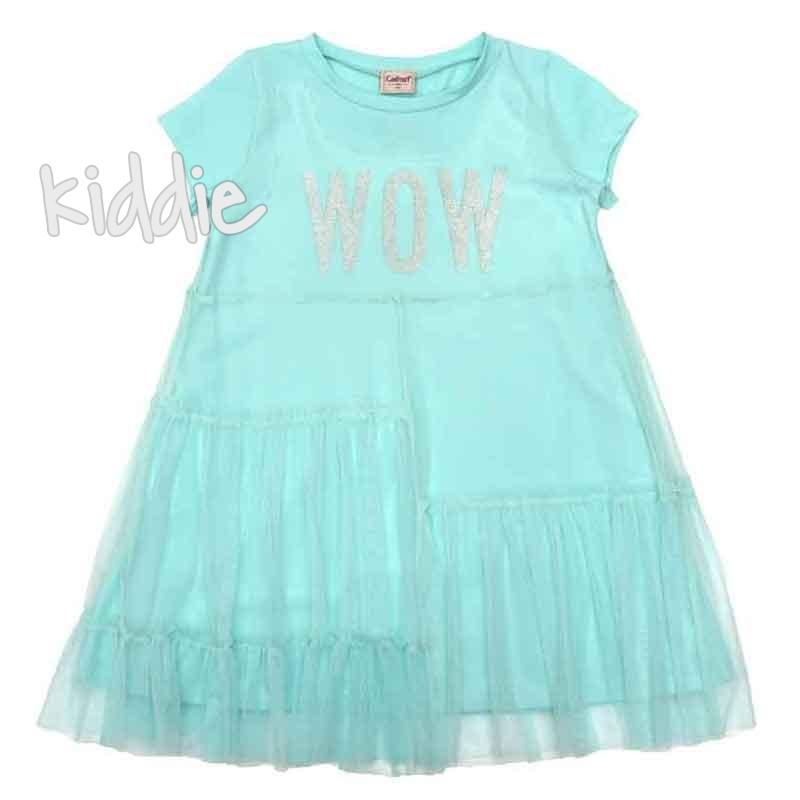 Детска рокля Wow, Contrast