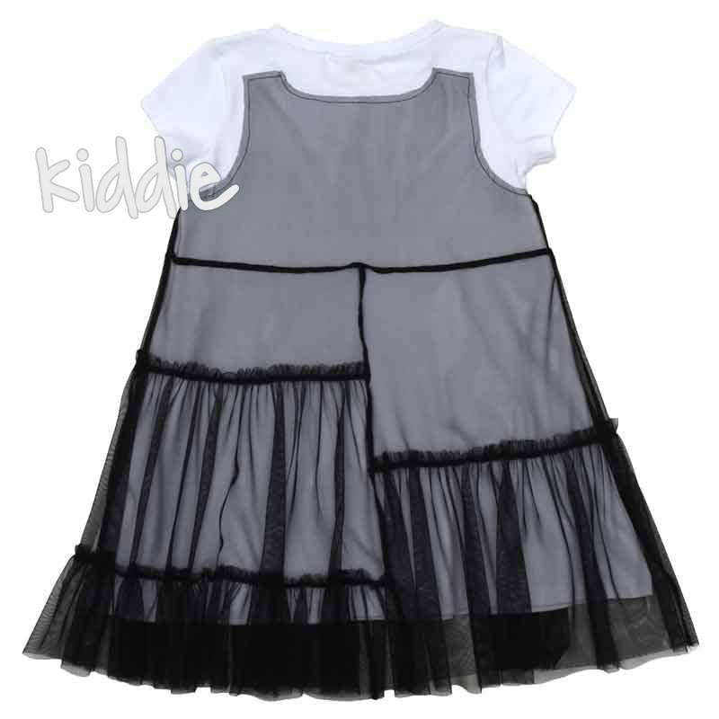 Детска рокля Wow с тюл, Contrast