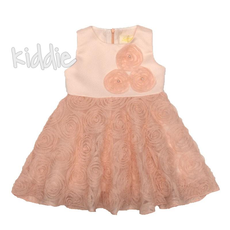 Бебешка рокля Розови мечти, Contrast
