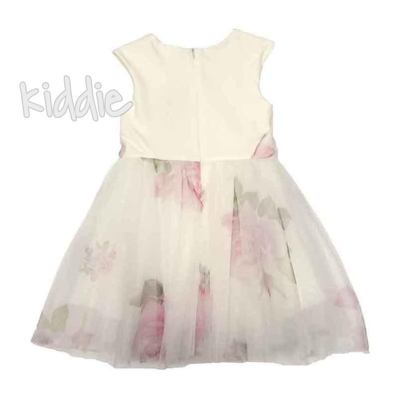 Детска рокля Contrast с принт