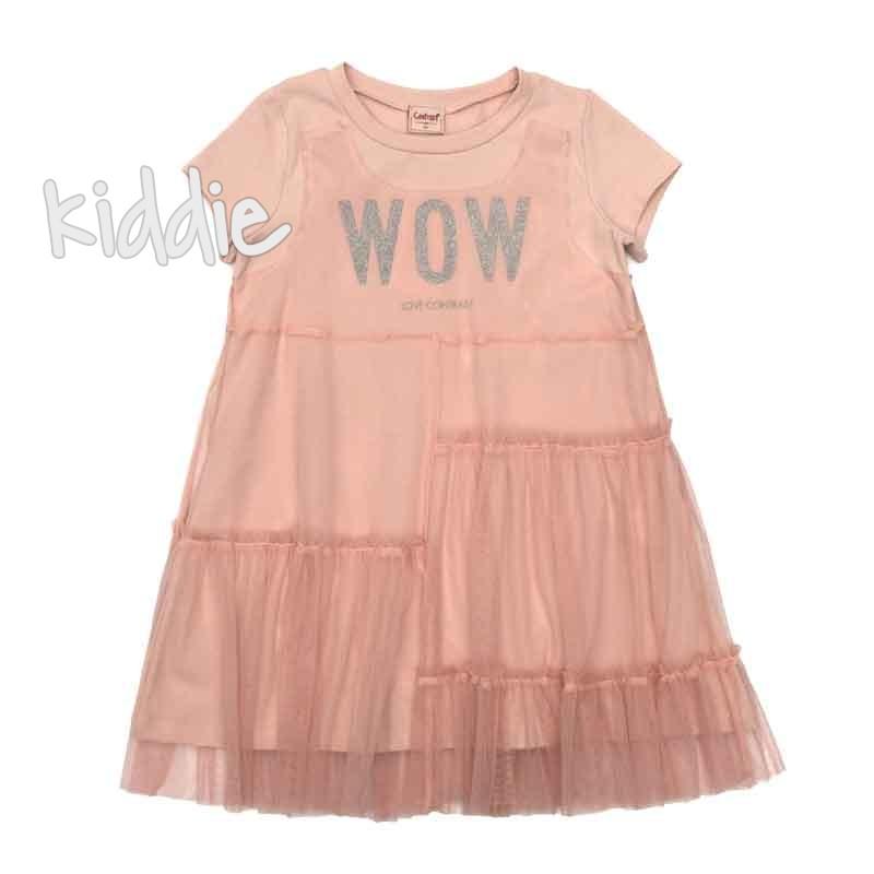 Детска рокля Wow Contrast с тюл