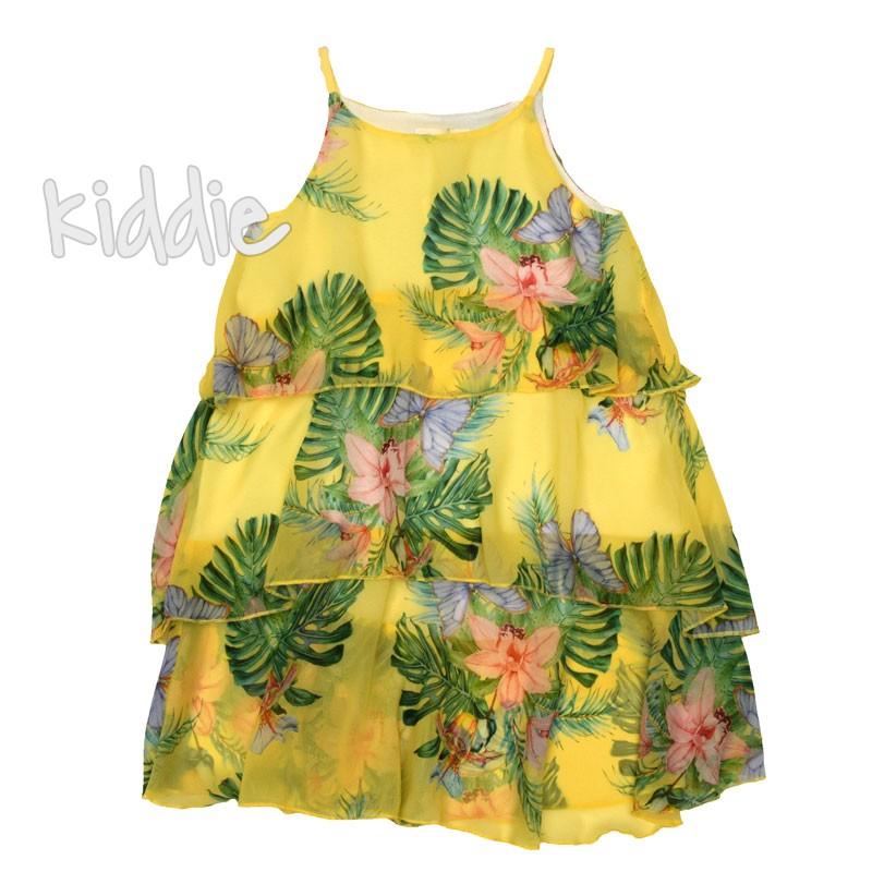 Детска рокля Флора, Contrast