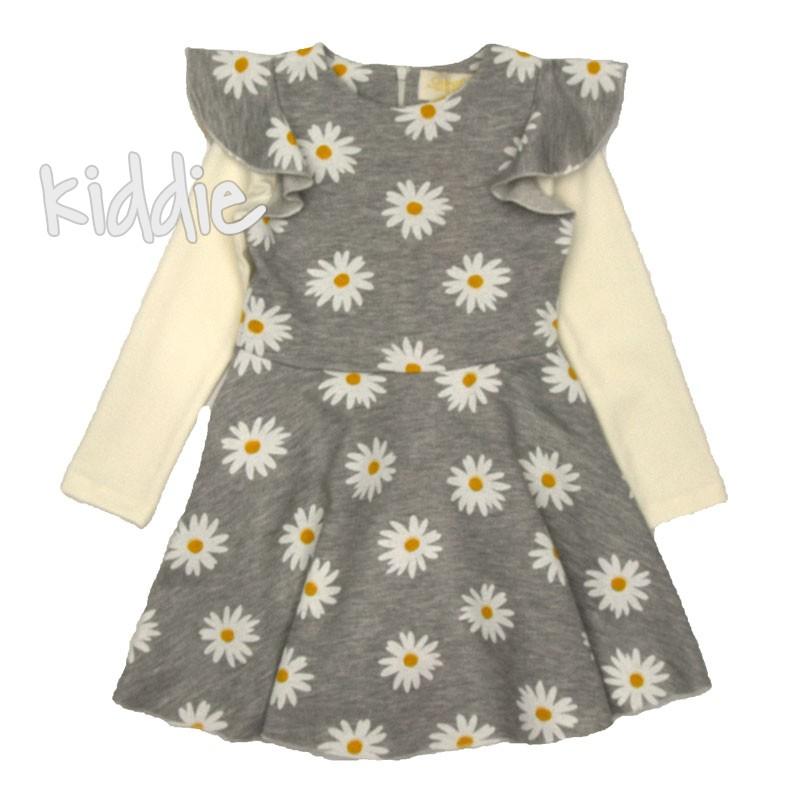 Детска рокля Маргаритка, Contrast