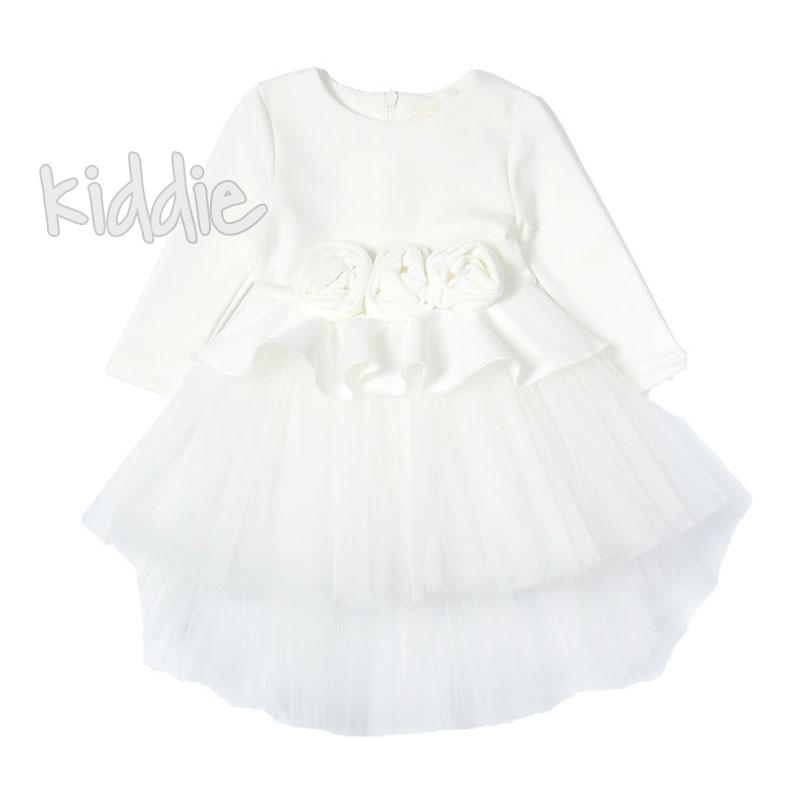 Бебешка рокля с рози Contrast