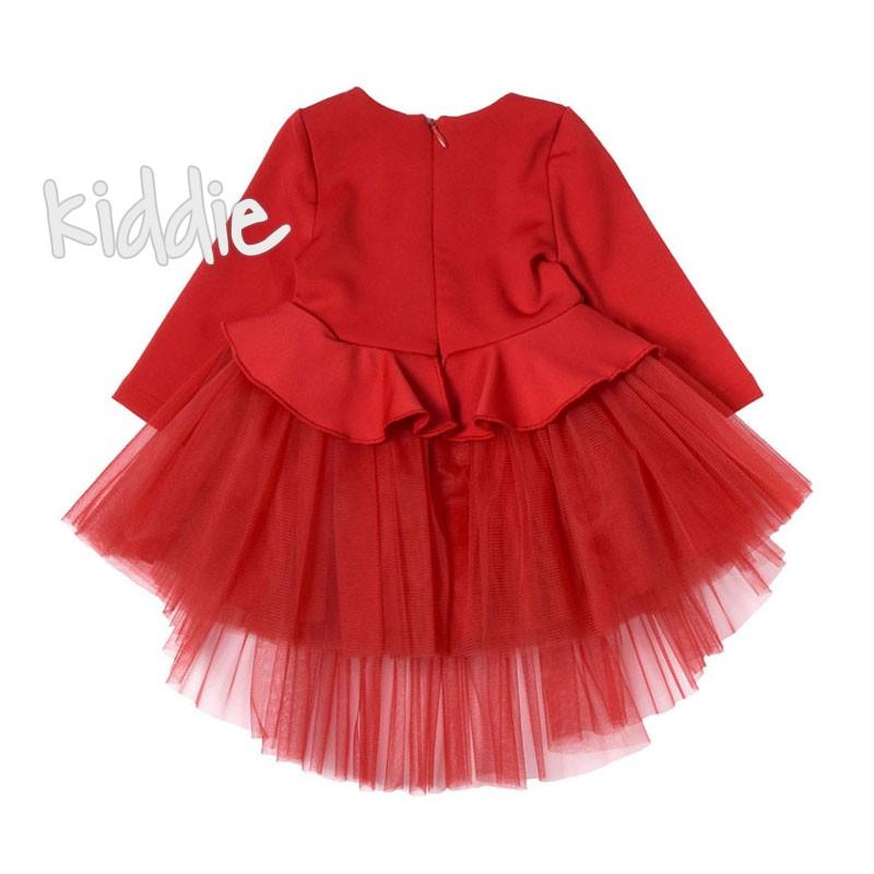 Бебешка рокля с декорация Contrast