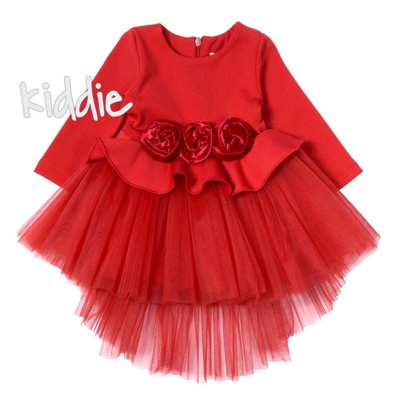 Детска рокля с рози Contrast