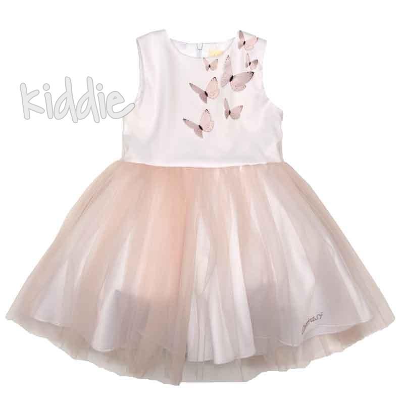 Детска рокля Пеперуди Contrast