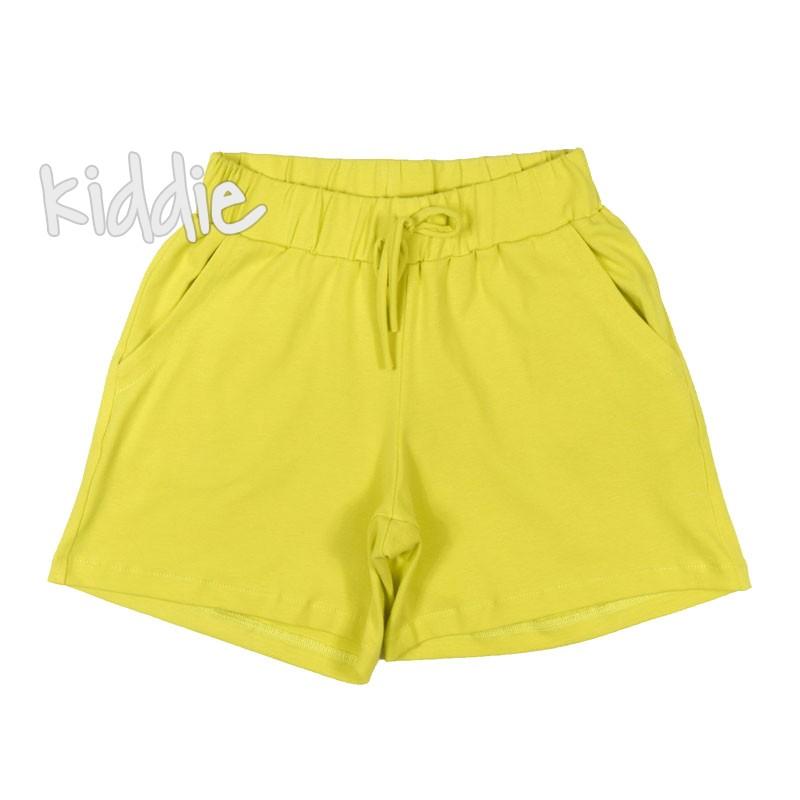 Детски трикотажни панталони Contrast за момиче