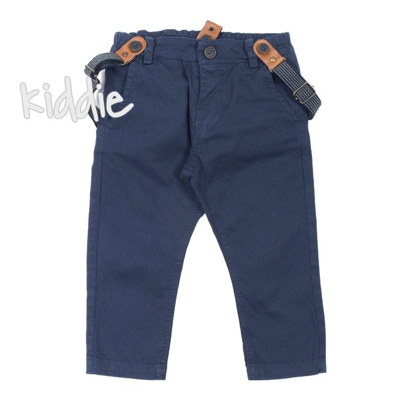 Детски панталон за момче с тиранти Contrast