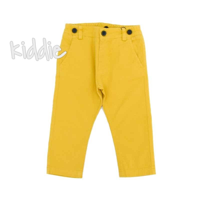 Дълъг бебешки панталон Contrast за момче