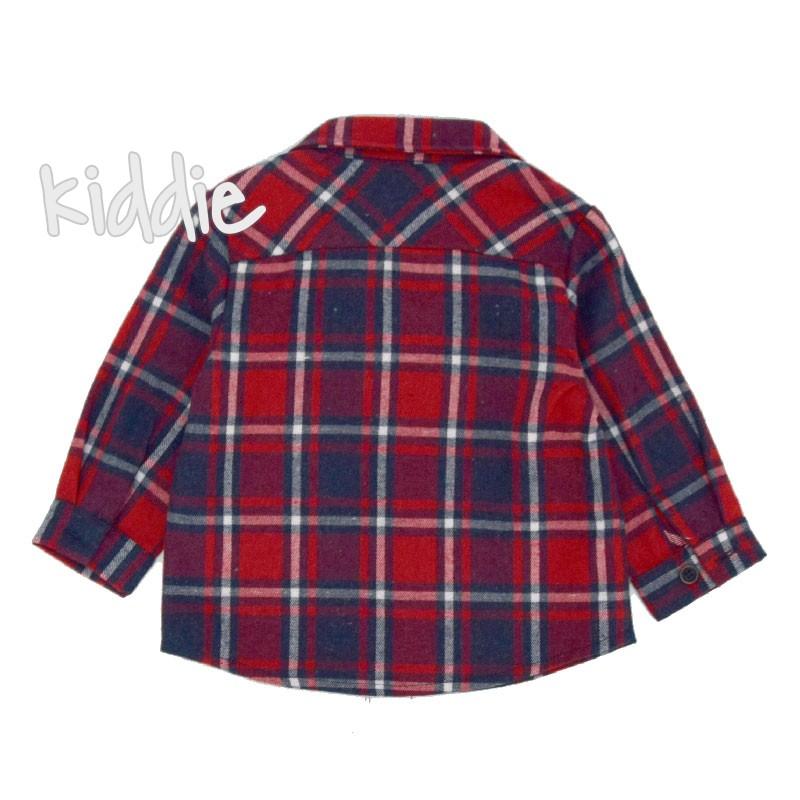 Детска карирана риза Contrast за момче
