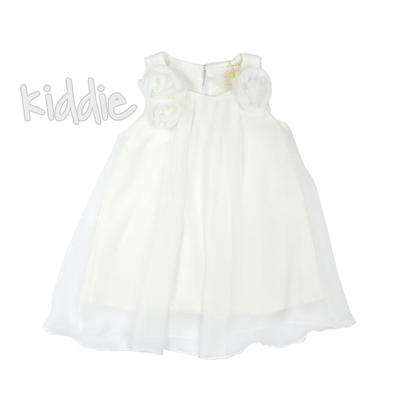 Бебешка рокля Contrast с рози