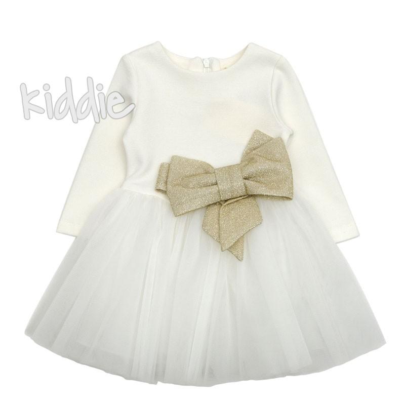 Детска рокля с голяма панделка Contrast