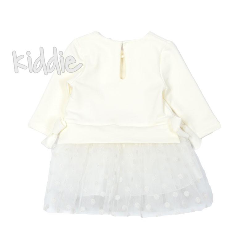 Бебешка рокля Contrast на точки