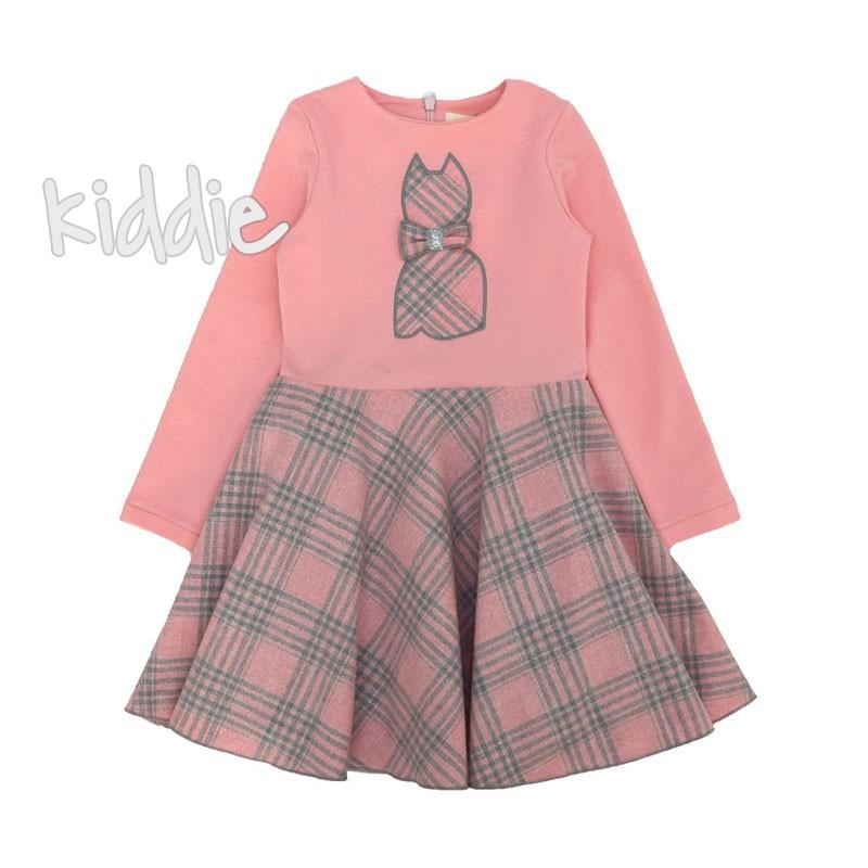Детска рокля Коте Contrast