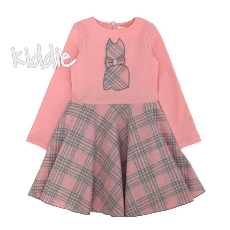 Детска рокля Contrast с коте