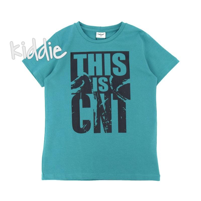 Детска тениска Contrast за момче This is