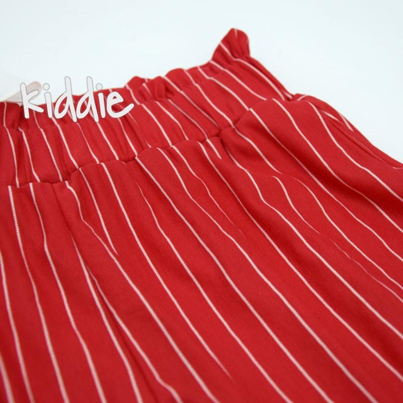Детски комплект за момиче с пола-панталон Contrast