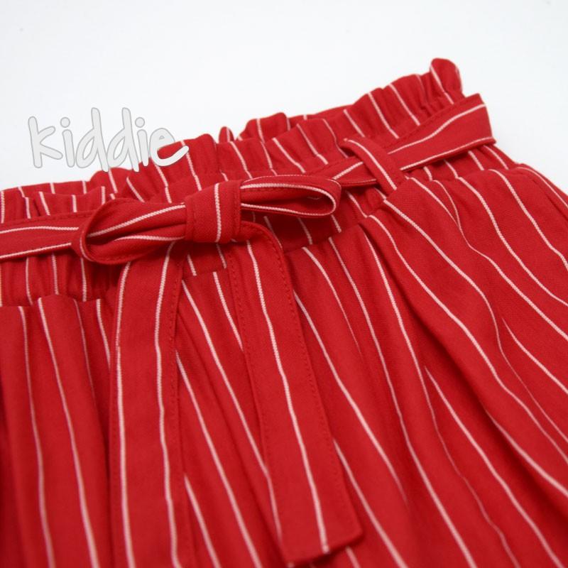 Детски комплект Contrast за момиче с панталон
