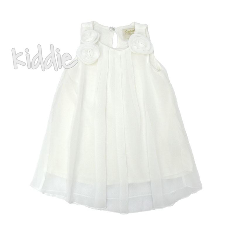 Бебешка лятна рокля Contrast