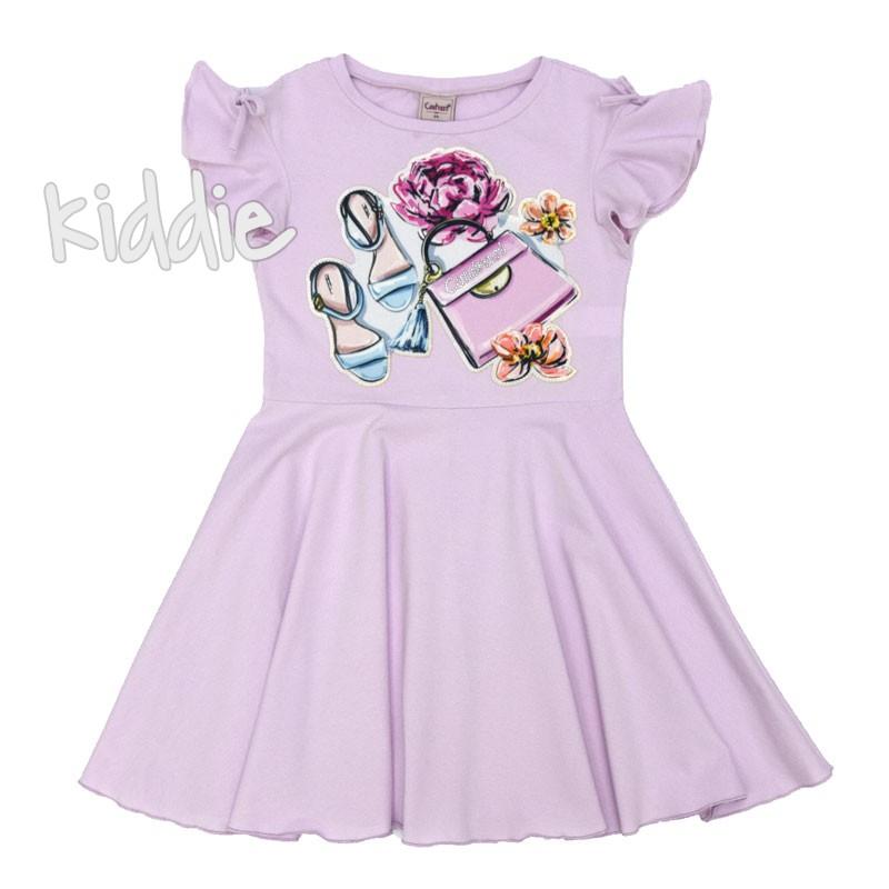 Детска рокля Contrast с апликация
