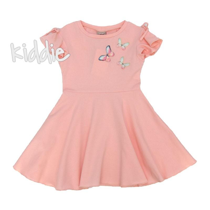 Детска рокля Contrast с пеперуди