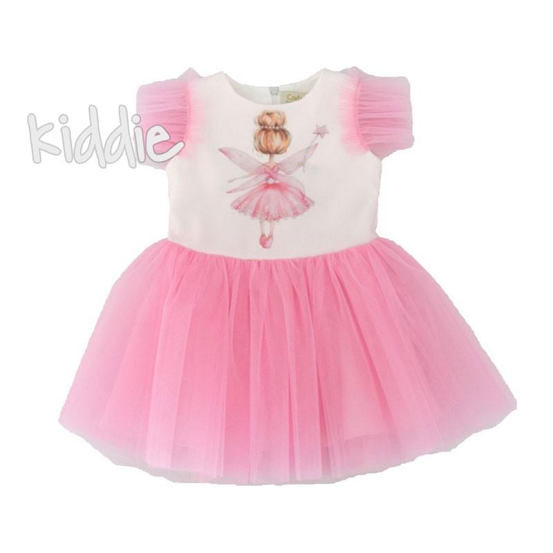 Бебешка рокля Феичка Contrast