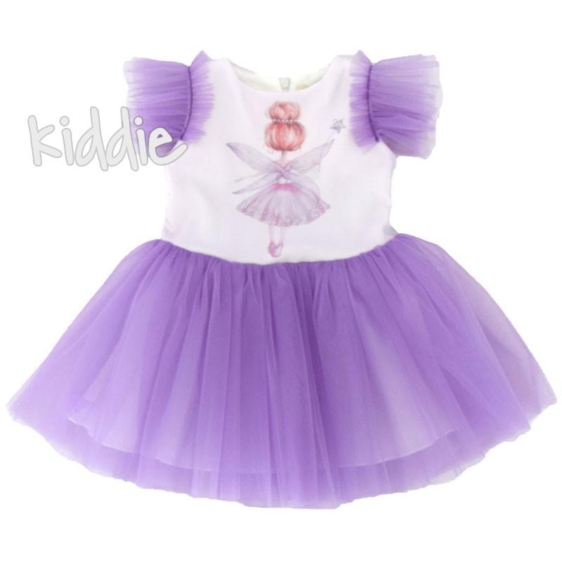 Детска рокля Феичка Contrast