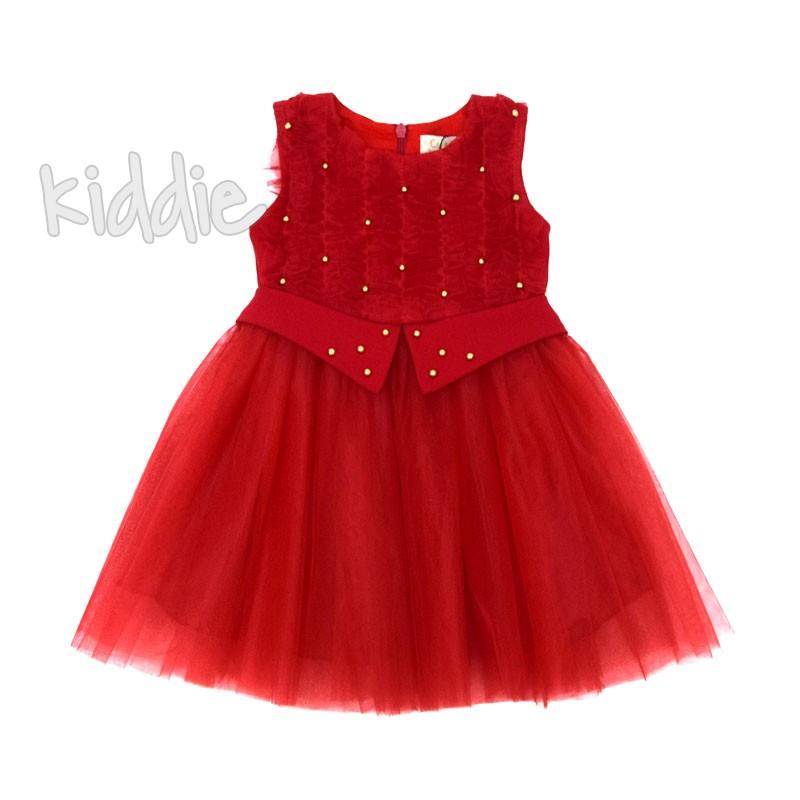 Бебешка рокля с тюл Contrast