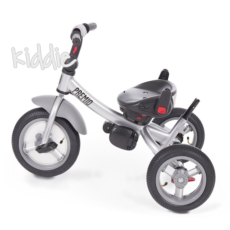 Kikka boo Триколка Premio Air wheels Grey Melange