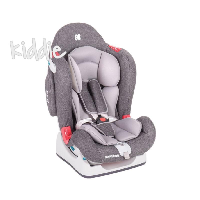 Стол за кола 0-1-2 0-25 кг ORight Dark Grey 2020 Kikkaboo