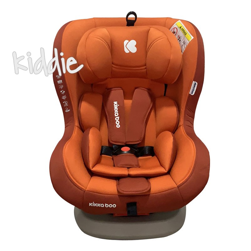 Стол за кола 0-1-2 0-25 кг Twister Orange Isofix 2020 Kikkaboo