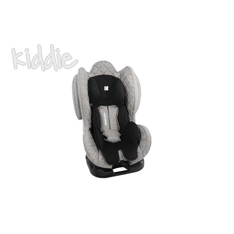 Стол за кола Kikkaboo 0-1-2 0-25 кг Bon Voyage Light Grey 2020